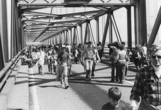 Bay Bridge Walk