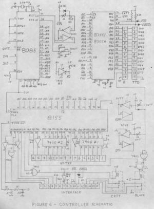 8085 Repeater Controller Schematic